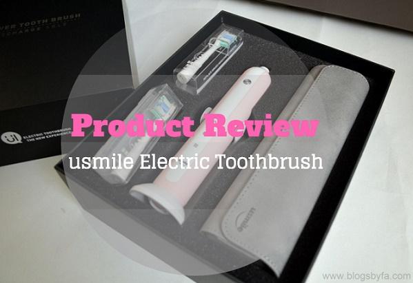usmile Portable Electric Toothbrush