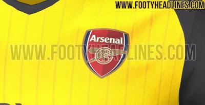 Arsenal 16/17 Away Kit