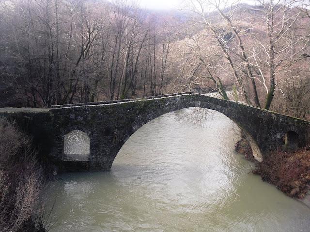Γιάννενα: Ζαγόρι - Θεοφάνεια στο πέτρινο γεφύρι Καμπέρ-Αγά