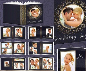 Wedding Photobook Psd Template