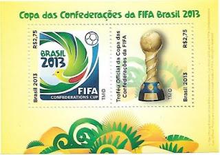 Selo Copa das Confederações da FIFA Brasil 2013