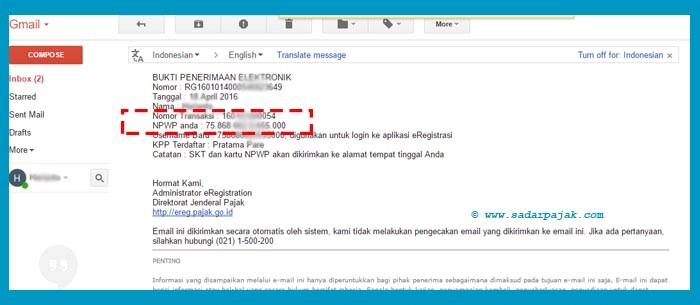 npwp online