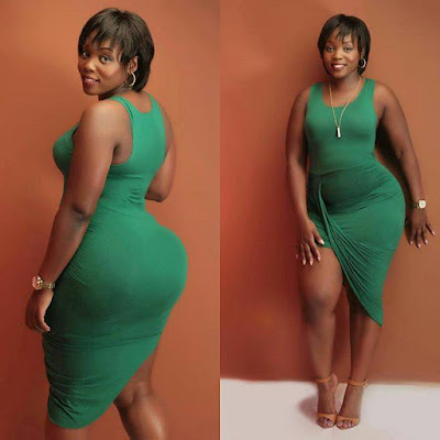 Risper Faith in the competion of Thick vs Slender. PHOTO | BANA