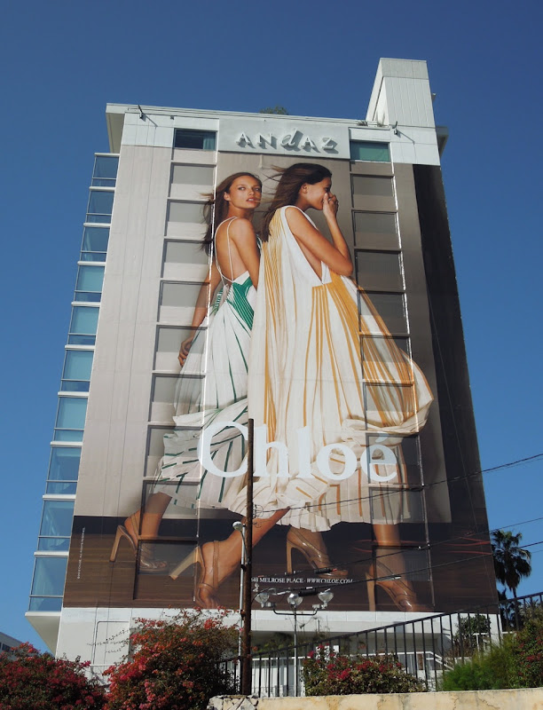 Giant Chloe Spring 2012 billboard