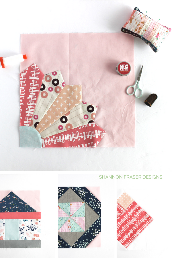 Round-up of the #modernsewcialitesBOM blocks so far | Shannon Fraser Designs #modernquilting #sewalong