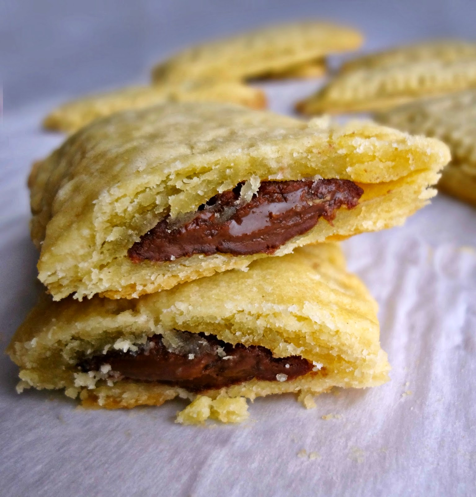 Chocolate Peanut Butter Breakfast Pastries