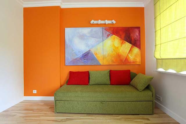 wallpaper ruang keluarga