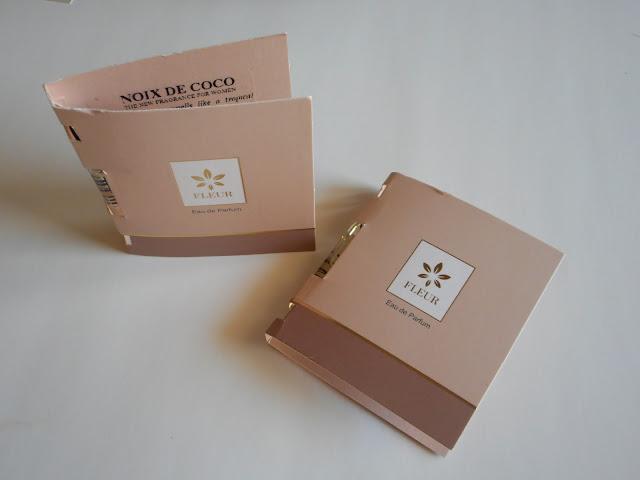 Fleur Parfumerie - Eau de parfume samples in Noix de Coco and La Vie Dense