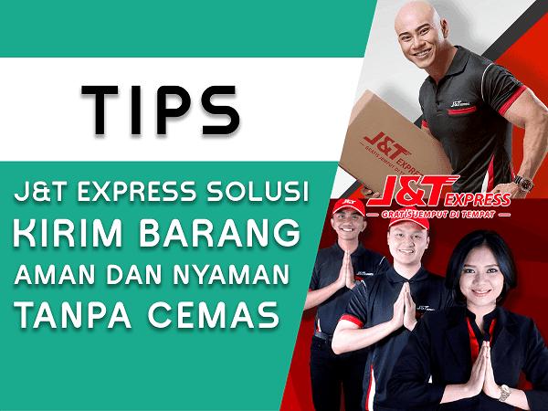 Mengirim Barang melalui Jasa Ekspedisi J&T Express