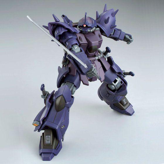 P-Bandai: HGUC 1/144 MS-08TX/N Efreet Nacht cold blade slice pose