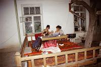 Ouzbékistan, Samarcande, Bahora, Kumush, tapchane, © L. Gigout, 2001