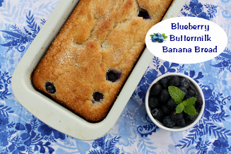 Blueberry - Banana Bread