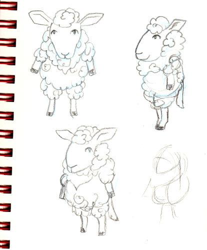 IM Challenge #3 [Aramis] : Les loups garoux de Thiercelieux   Recherche_mouton03