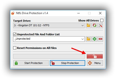 Nfts drive protection