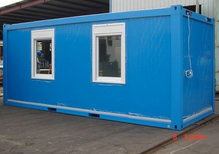 Sale Used Container Modification Of Portacamp Mess Cabin