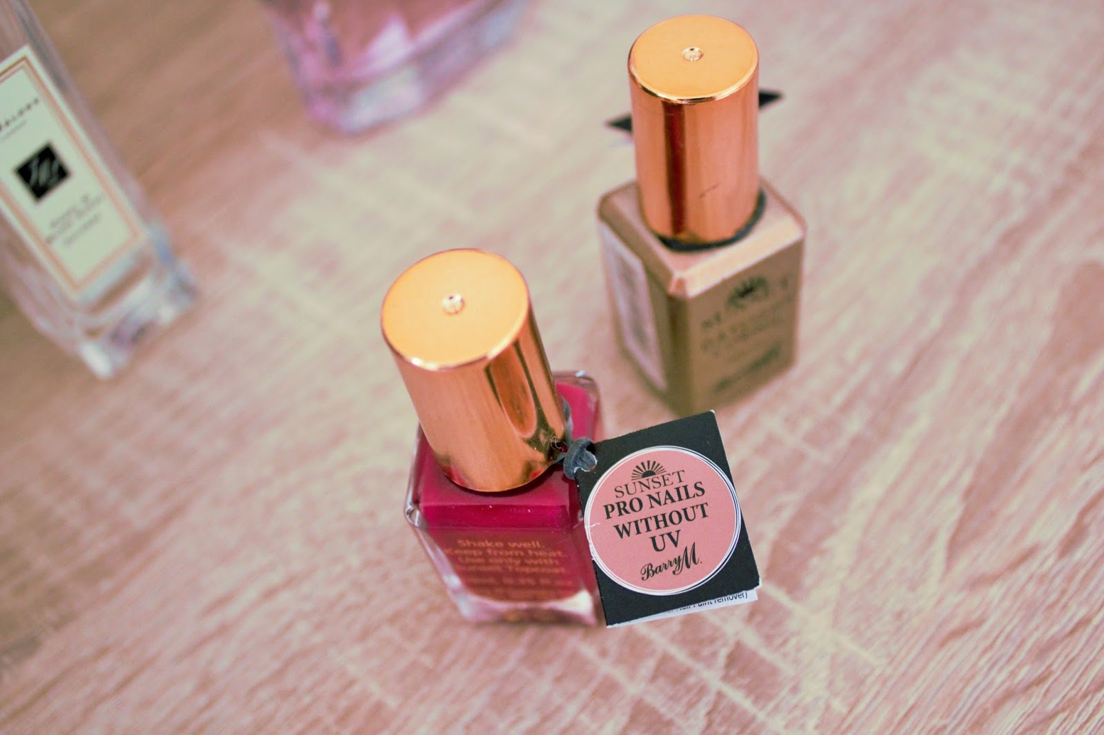 Barry M Sunset Daylight Curing Nail Paint