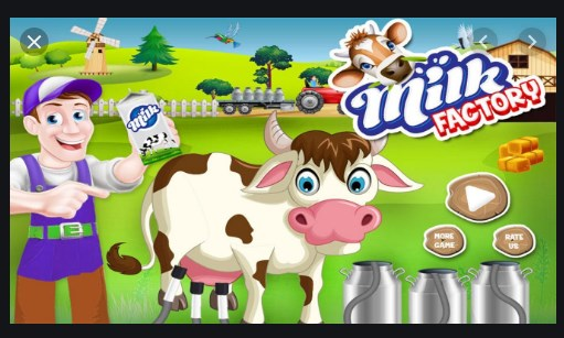 Milk factory Apk Free on Android Game Download