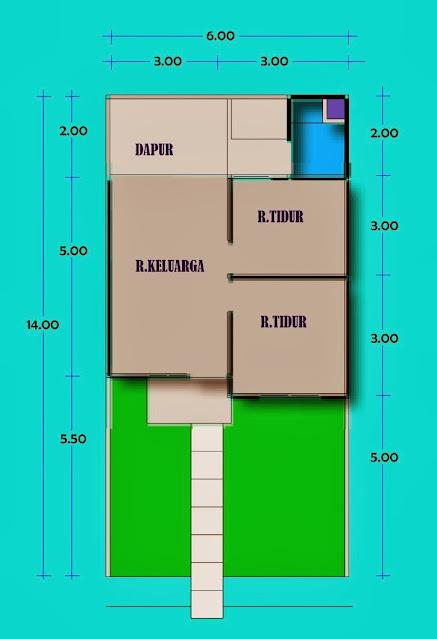 spesifikasi rumah sederhana sehat