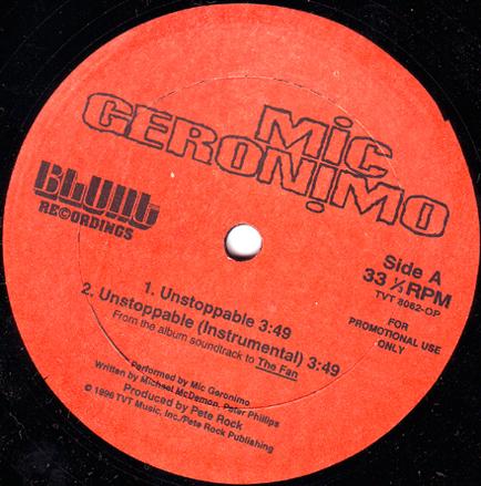 Mic Geronimo Unstoppable Promo Vls 1996 320 Kbps