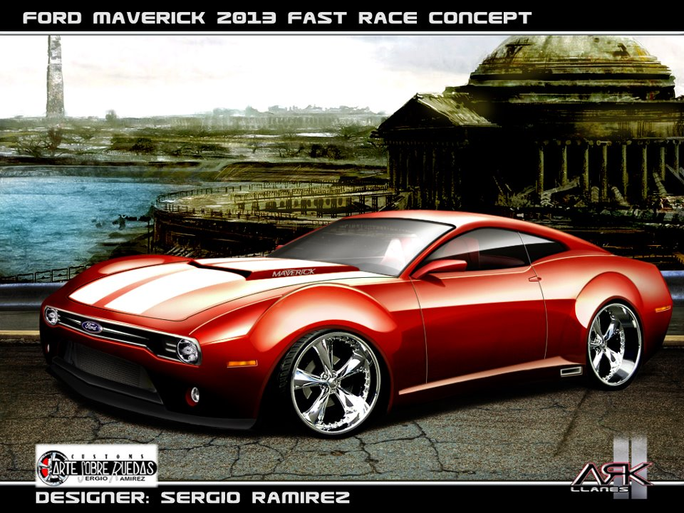 arte sobre ruedas design maverick 2013 fast race prototype. Black Bedroom Furniture Sets. Home Design Ideas