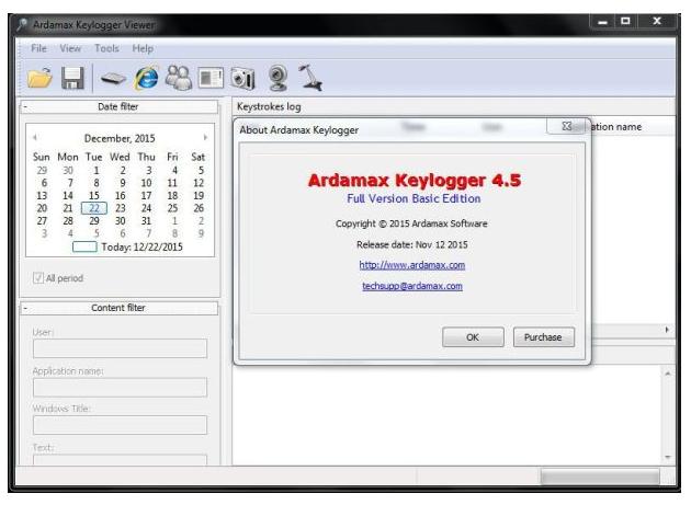 Ardamax Keylogger 4 5 Full Version Cracked (Seriak Key) Free