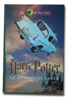 Harry Potter zagraniczne wydania - Holandia - en de Geheime Kamer