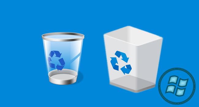Geri Dönüşüm Kutusu Simgesini Kolayca Değiştir - www.ceofix.com
