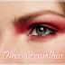 Novidade: makeup olhos vermelhos