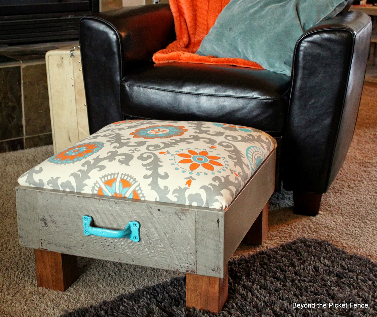 Repurpose An Old Sturdy Drawer Into An Ottoman | Repurpose Furniture: The Best Way To Upgrade Your Home Living Economically