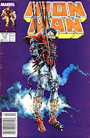 Iron Man v1 #232 marvel comic book cover art by Barry Windsor Smith