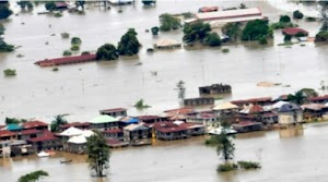FLOOD: Heavy Downpour  Displaced Over 200 Households In Plateau