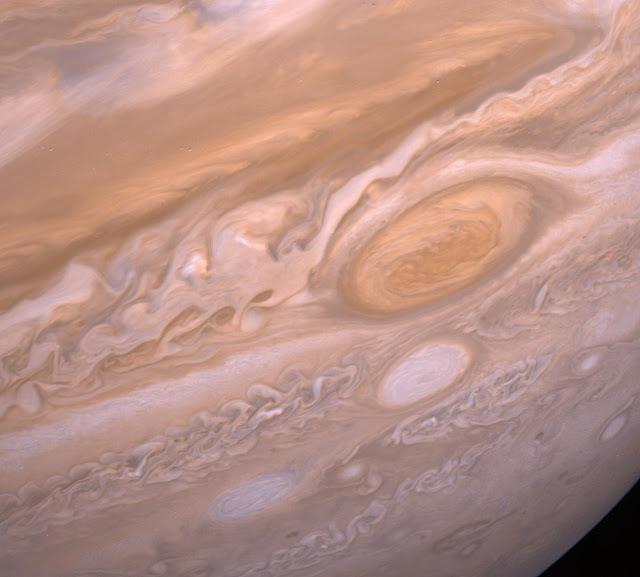 Jupiter's Violent Storms