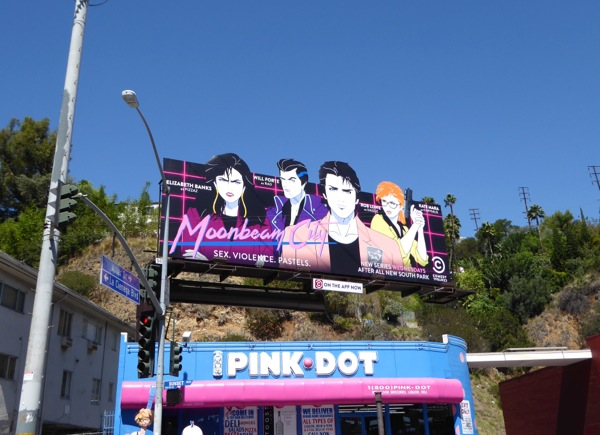 Moonbeam City series premiere billboard