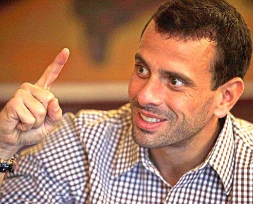 Capriles: Día uno del lapso de cinco días para que el CNE verifique las firmas