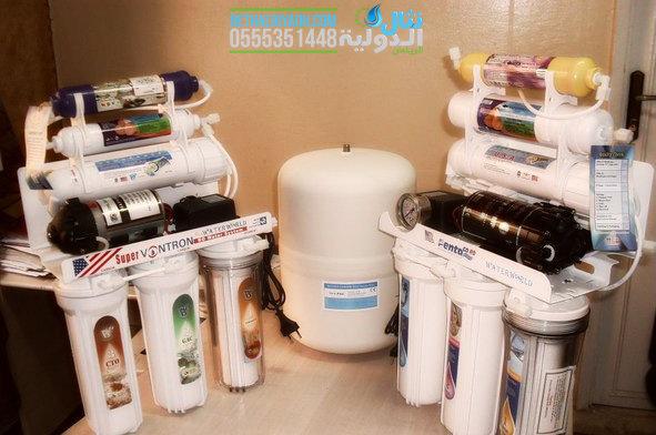 فلاتر مياه منزلية :  تحلية مياه المنزل بفلاتر مياه 6 مراحل