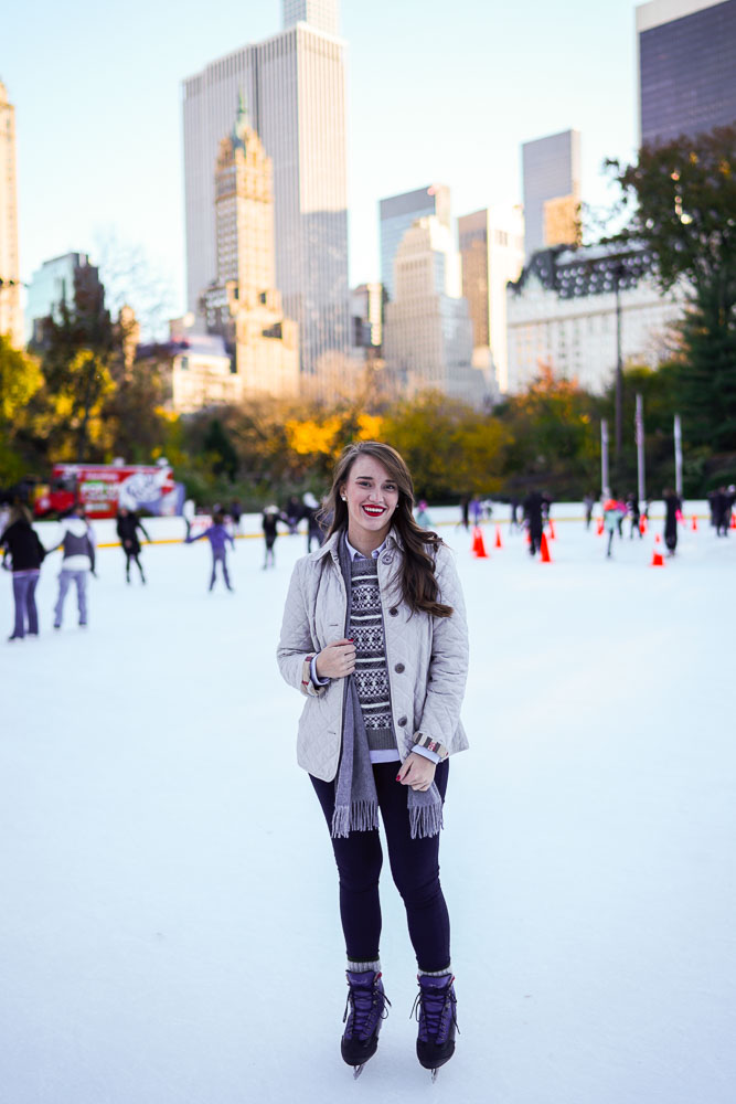 Krista Robertson, Covering the Bases, Travel Blog, NYC Blog, Preppy Blog, Style, Fashion Blog, Fashion, NYC Christmas, Holiday Wear, Holiday dresses, Style, Things to do in NYC at Christmas, Christmas in the city, Ice Skating in Central Park