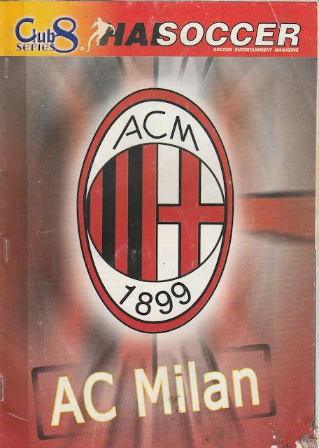 BOOKLET HAI SOCCER CLUB SERIES AC MILAN