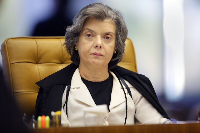 Ministra Cármen Lúcia, Presidente do Supremo Tribunal Federal,