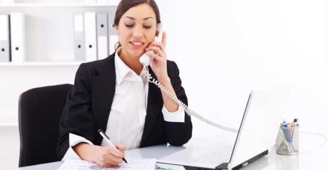وظائف خالية- للعمل موظفة استقبال سكرتيرة بالاردن