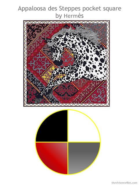 Hermes Appaloosa des Steppes with color scheme