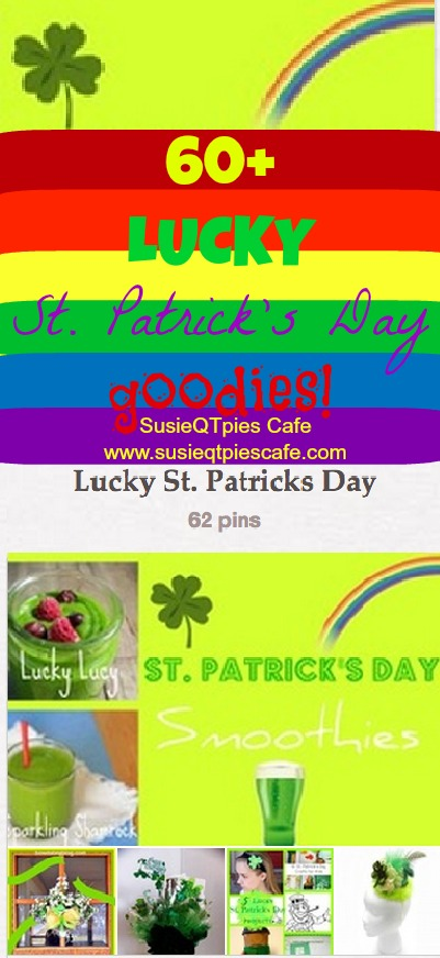 SusieQTpies Cafe: 60 LUCKY St. Patrick's Day Projects