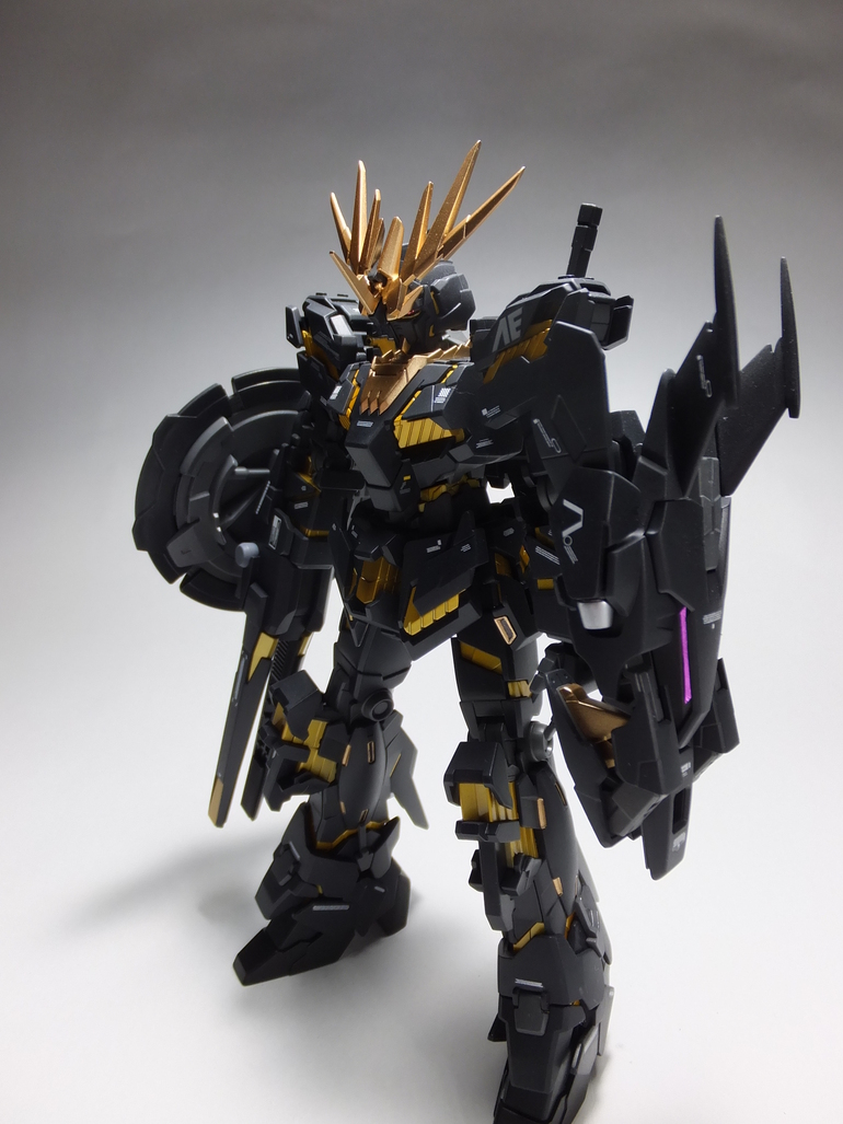 HGUC 1/144 Banshee EW ver. custom build - Gundam Kits ...