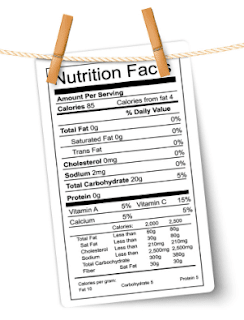 Kind Bar Nutrition Label