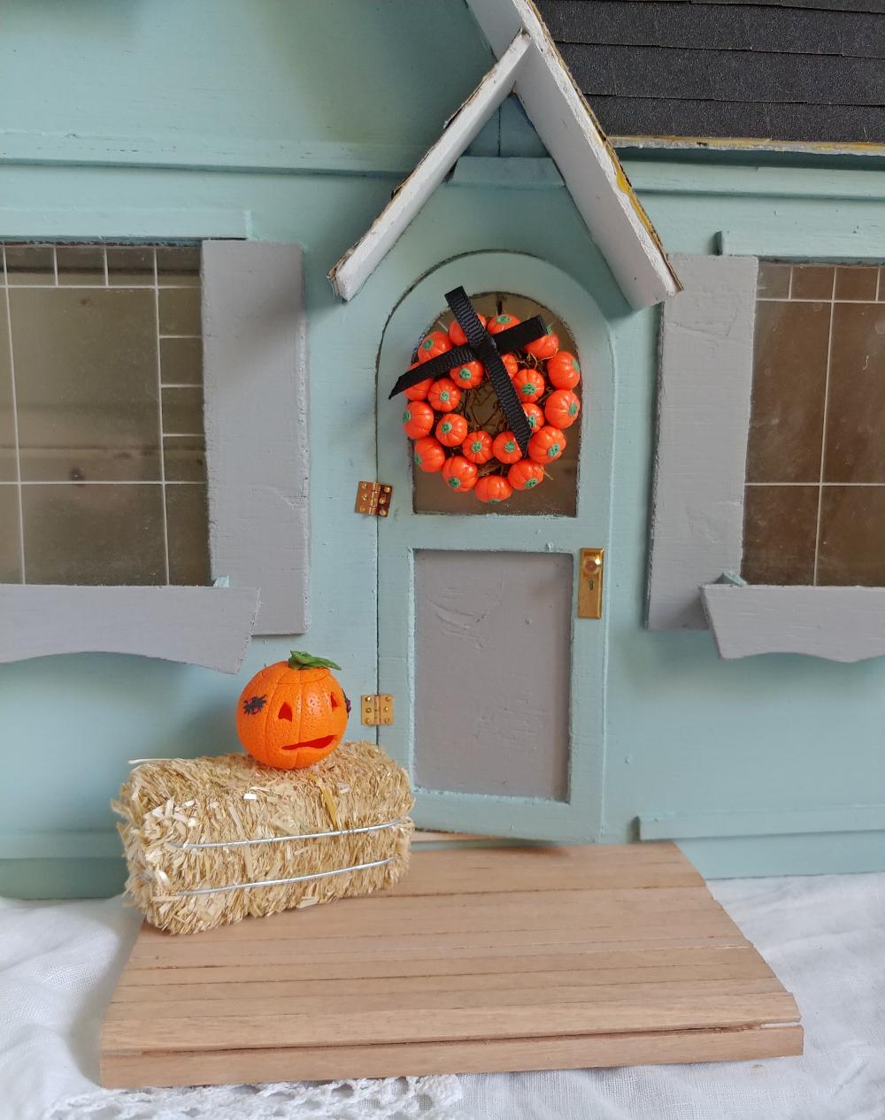 miniature front porch