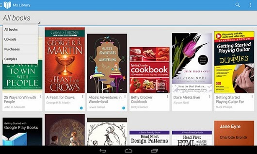 Google Play Books para iOS y Android