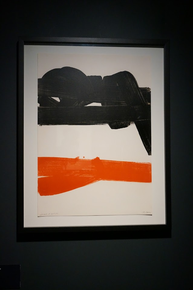 lithographie 27 Pierre Soulages 1969
