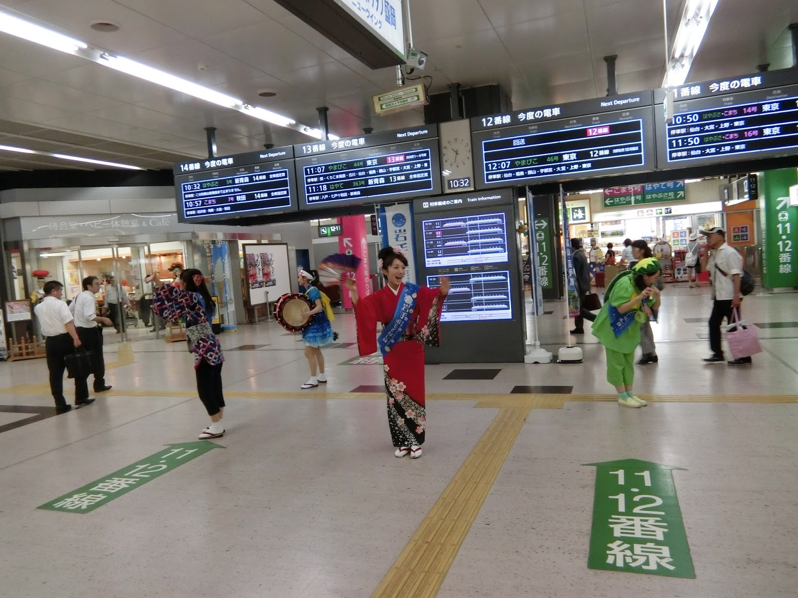 2015日本東北夏祭: Day2 盛岡懷舊城市散步行+三颯舞祭