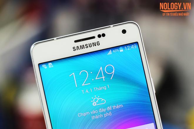 Thiết kế chiếc Samsung Galaxy A7 tuyệt phẩm