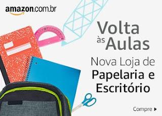 Volta às aulas com a nova loja de Papelaria da Amazon
