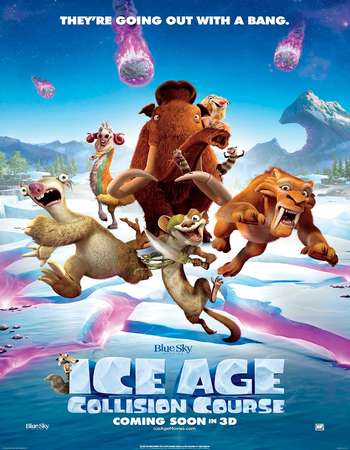 Poster Of Ice Age Collision Course 2016 Dual Audio 720p BRRip [Hindi - English] ESubs Free Download Watch Online downloadhub.net